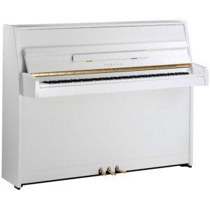 YAMAHA B1 Όρθιο Πιάνο Λευκό Γυαλιστερό