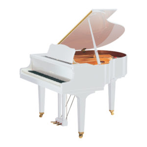 YAMAHA GB1 Πιάνο με Ουρά Λευκό Γυαλιστερό